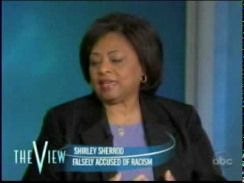 The View -  Interview with Shirley Sherrod pt1