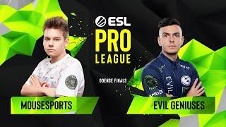 CS:GO - Evil Geniuses vs. mousesports [Nuke] Map 3 - Quarterfinals - ESL Pro League Season 10 Finals