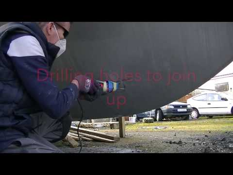 Max power CT35 Bow thruster installation