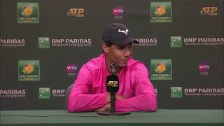 Rafael Nadal Press Conference at the BNP Paribas Open