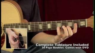 Stevie Wonder Solo Fingerstyle Guitar Arrangements Lesson DVD with Tablature - Adam Rafferty