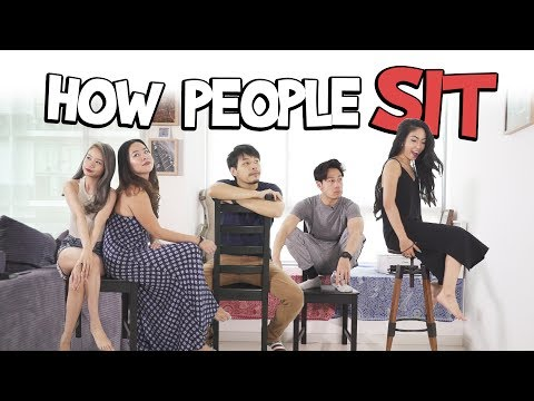 How People Sit