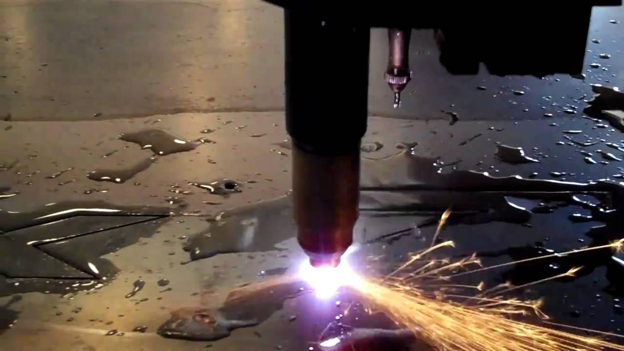 Cnc Plasma Cutting Machine Ride Along Youtube
