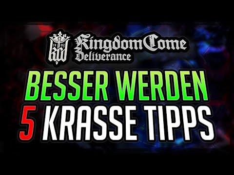 BESSER WERDEN 5 Tipps für Kingdom Come: Deliverance Anfänger und Profis deutsche Tipps & Tricks