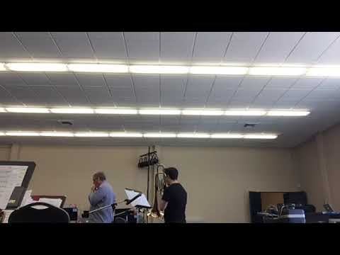 """""""When Lights Are Low"""" Tenor and Bass Trombone Feature With Trombone Choir"""