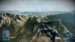 Battlefield 3: Los vehículos aéreos también pueden matar sin sus armas.