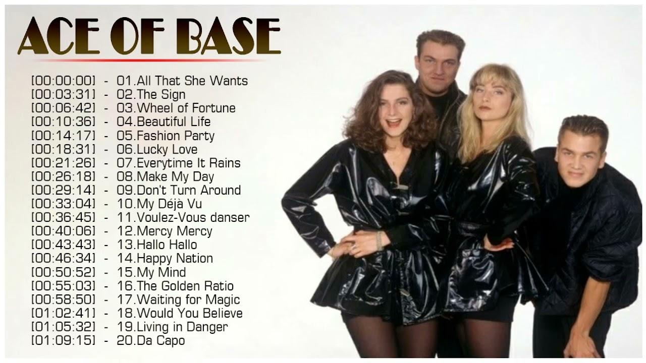 Download The Best of ACE OF BASE Greatest Hits Full Album 2021