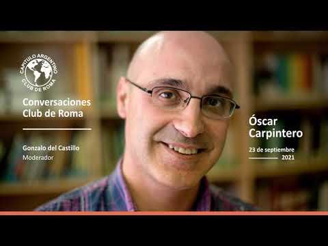 Con Óscar Carpintero, inició el Ciclo de Conversaciones Club de Roma