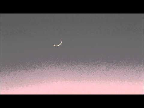 As the Moon fades with approaching daylight