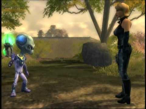 Destroy All Humans 2 Xbox Mission 11 Takoshima Story YouTube