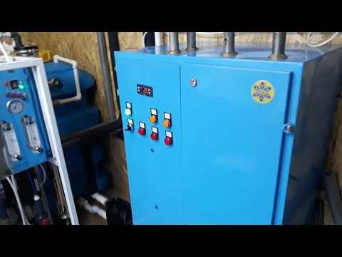 Тепловой насос Симплекс вода-вода 21 кВт. Пермский край д Шубино