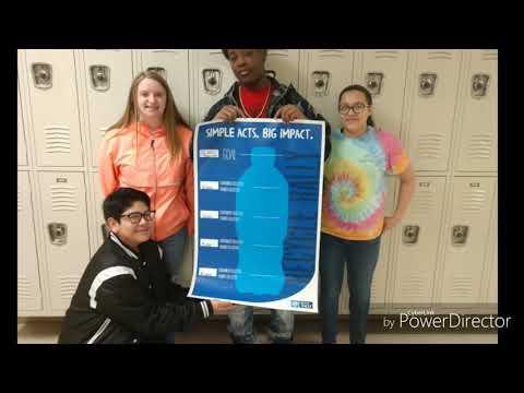 Hobbton Middle School Recycle Rally Kick-off