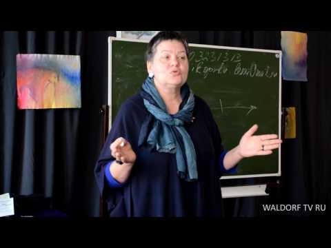 Елена Животовская на III родительской конференции