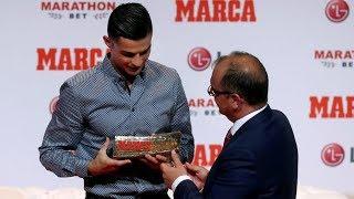 El discurso de Cristiano Ronaldo tras recibir el MARCA Leyenda I MARCA