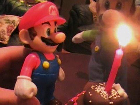 Mario S Birthday Cute Mario Bros Youtube