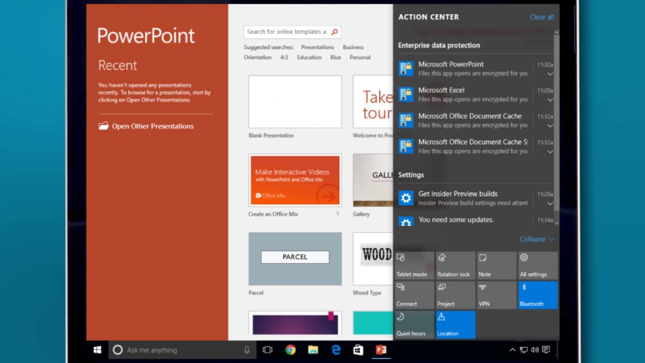 Windows 10 and AirWatch BYOD Workflow