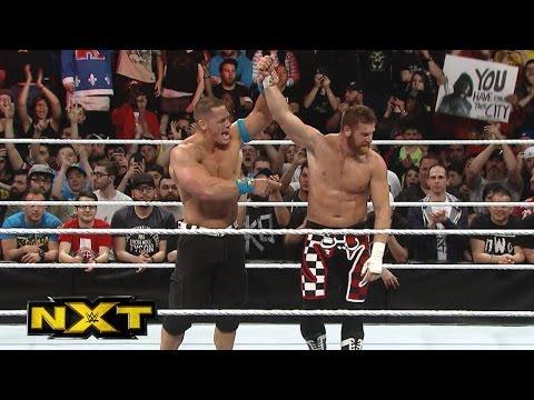 Sami Zayns Heldenhafte Performance Gegen John Cena: WWE NXT – 9. Dezember 2015