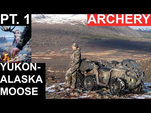 Yukon-Alaska Moose, Archery Hunt, Part 1