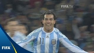 Tevez stunner highlights Latin rumble