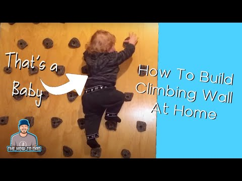 How To Build Climbing Wall at Home very simply  YouTube