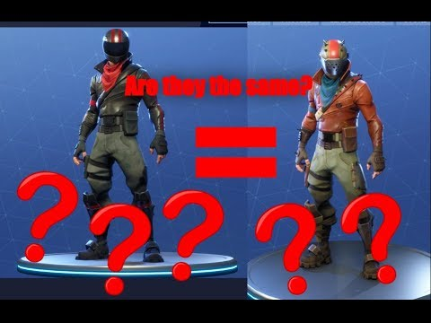 How To Stop Rust >> Fortnite: Are The 'Burnout' and 'Rustlord' Skins The Same ??? - YouTube
