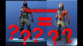 Fortnite: Are The 'Burnout' et 'Rustlord' Skins The Same ???