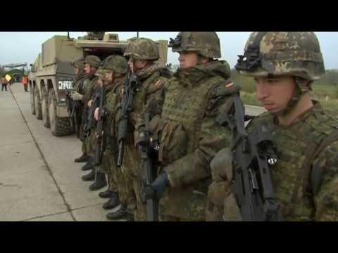 Bundeswehr: Ursula von der Leyen sieht deutsche Streitkräfte vor Riesenproblem