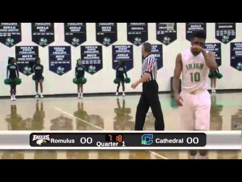 Cathedral Boys Basketball vs Romulus Senior High School