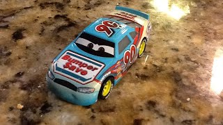 Disney cars Ponchy Wipeout review
