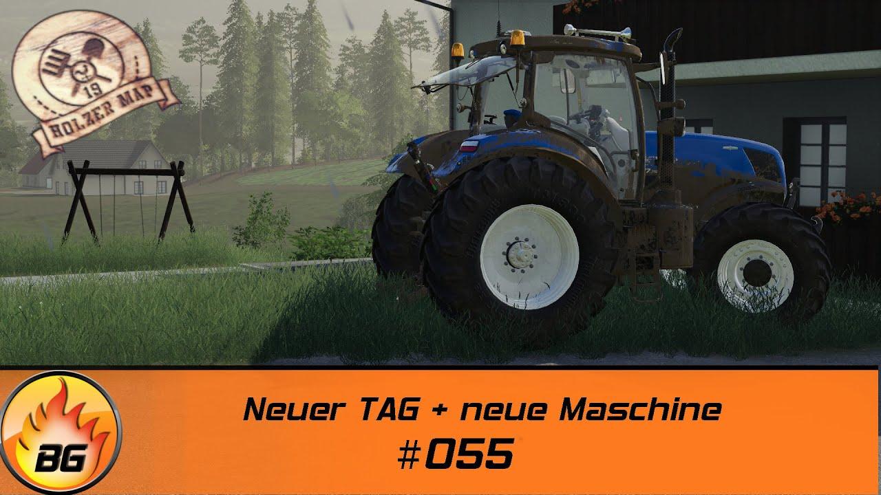 LS19 - Holzer Challenge #055 | Neuer TAG + neue Maschine | FS19 | Let's Play [HD]