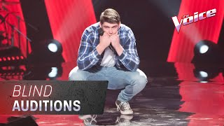 The Blind Auditions: Josh Pywell sings 'Run To Paradise'