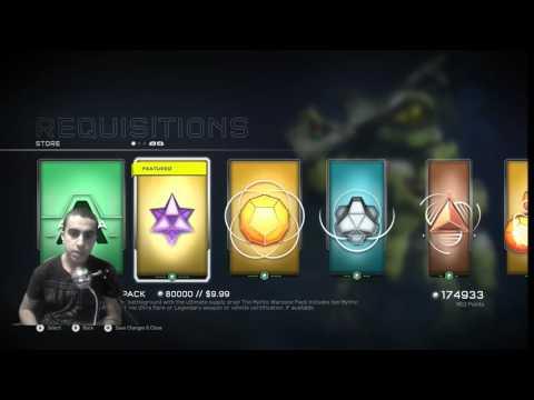 Halo 5 Mythic Pack Opening Spree