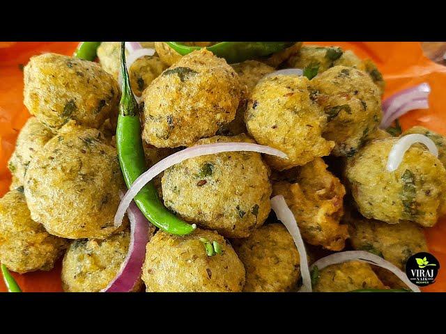 २१वी सदीके सबसे सॉफ्ट दाल वड़ा   Super Soft Dal Vada Recipe   Masala Dal Vada with Chutney by Viraj