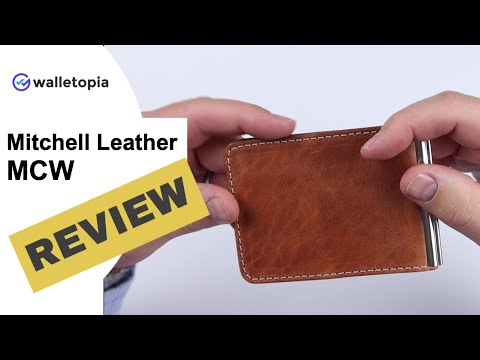Mitchell Leather Money Clip Wallet Is As Perfect A Cash/card Wallet You Can Get