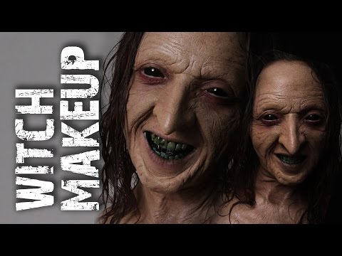 RBFX Witch / Old Age Prosthetic Makeup