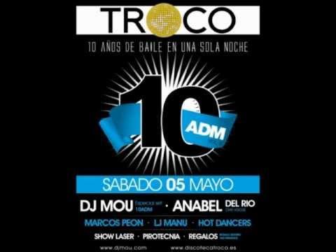 10 Años de música Dj Mou discoteca Troco 5-5-2012.wmv