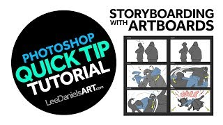 Photoshop Tutorial | QUICK TIP | Storyboarding with Artboards