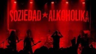 Soziedad alkoholika - alineados - intro | leyendas del rock | Villena alicante España 8/8/2018