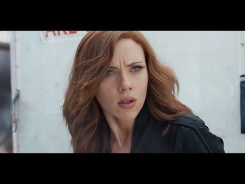 Natasha Romanoff/ Black Widow Civil War Fight Scene