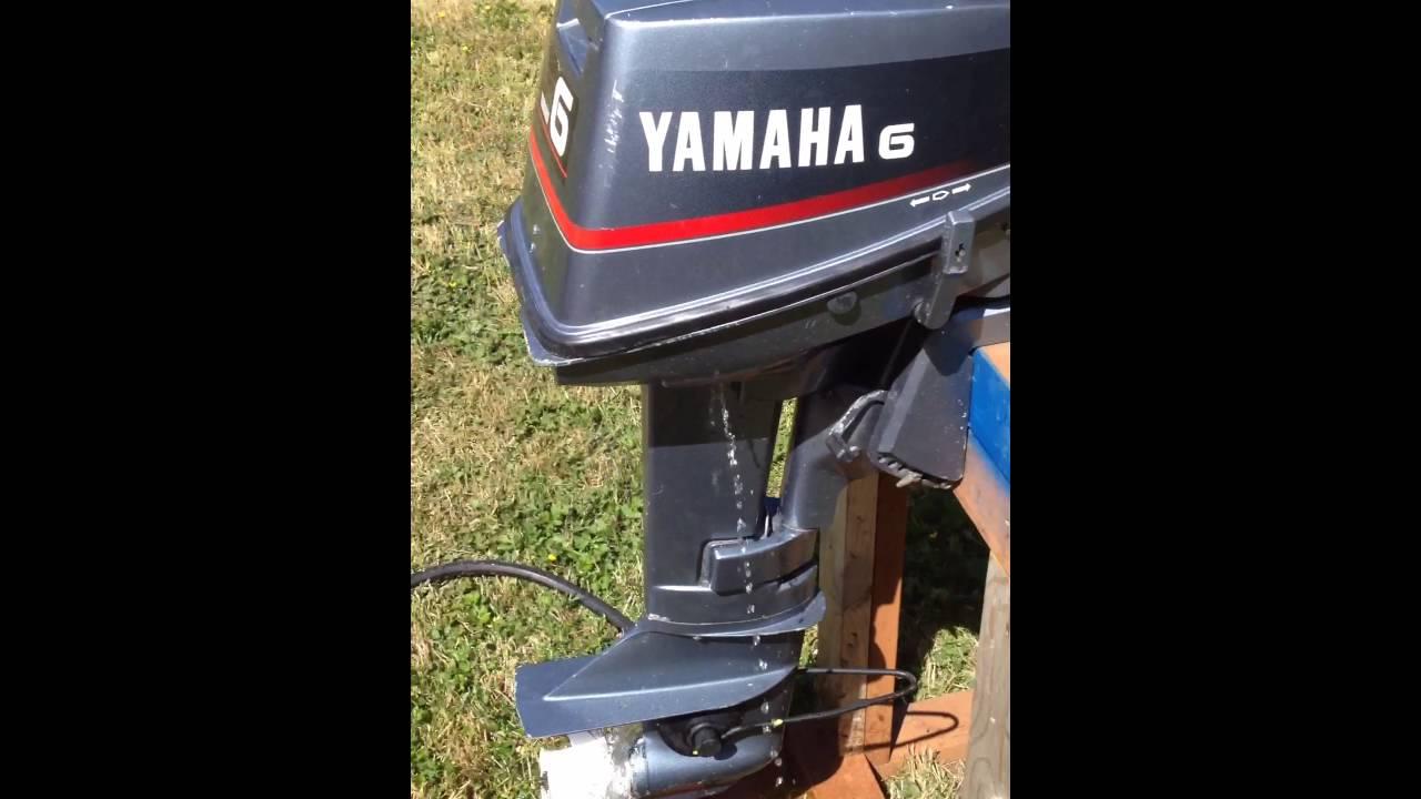 yamaha 6hp outboard. yamaha 6hp 2 stroke tiller short shaft outboard motor
