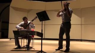 Duo Sonidos play Handel: Sonata No. 4 in D Major