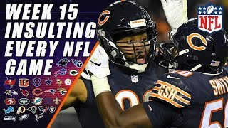 NFL Week 15 Expert Picks: Insulting Every Game