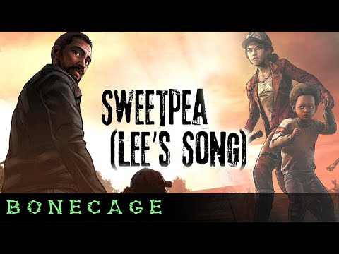 """WALKING DEAD SONG """"Sweetpea"""" - Tribute to Lee and Clem"""