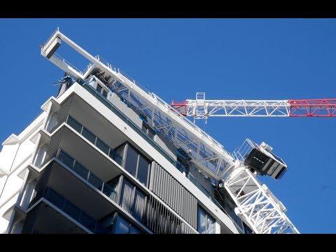 "CRANE COLLAPSE INTO an Apartment | Poor Construction | 6.Aug.17 | 33°55'46""S 151°9'20"""