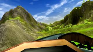 Roller Coaster Tycoon 3 Soaked Ride! 3D!