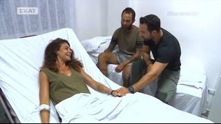 Οι Μαχητές στο νοσοκομείο μετά το τροχαίο ατύχημα - Survivor