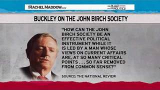 Rachel Maddow-Talkin John Birch Paranoid Blues