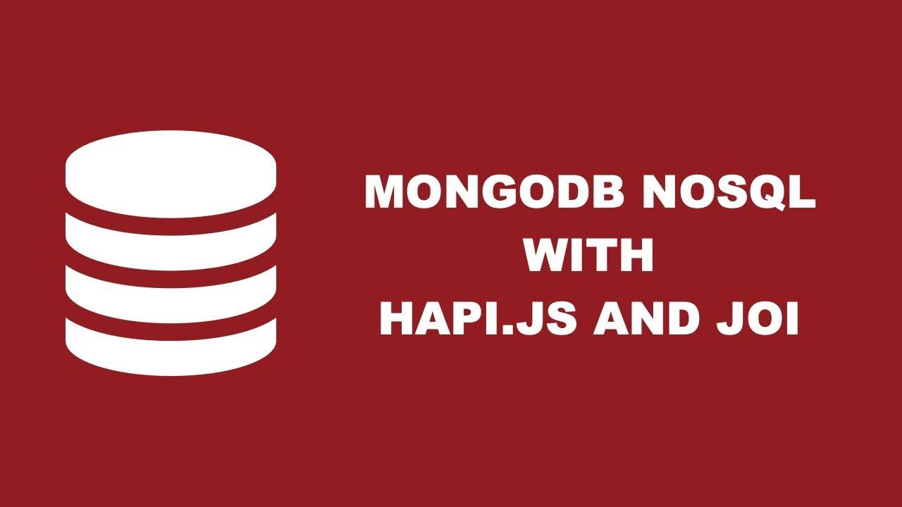Using Hapi js, Mongoose, And MongoDB To Build A REST API