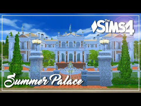 The Sims 4 Speed Build - Summer Palace | Furnish it!