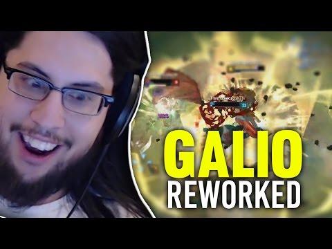 Imaqtpie - NEW GALIO IS...?